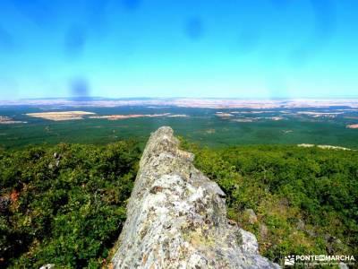 Robledal Riaza-Ermita de Hontanares;viajes mayores comunidad de madrid brújula pico del alba